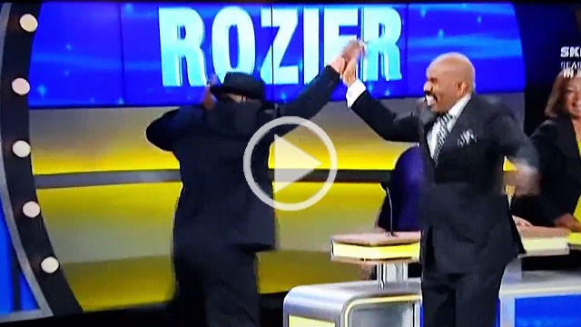 Mike Rozier on Family Feud!