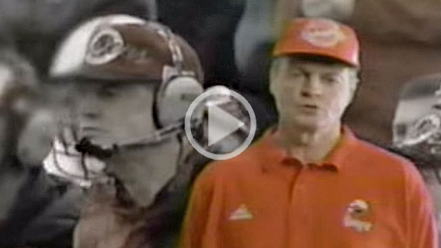 Tom Osborne sings on 1995 Burger King commercial